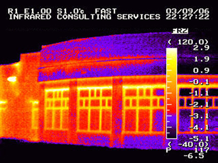 Thermal Imaging Survey Building Inspection