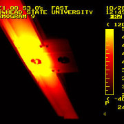 Locate potential problems with electrical thermography.