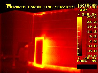 Identify problems with thermographic imaging.