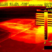 find issues with infrared inspection services.