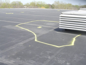 Locate problems with the help of an infrared roof moisture survey.