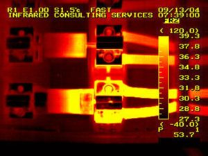 Make necessary repairs with the help of electrical thermal imaging.