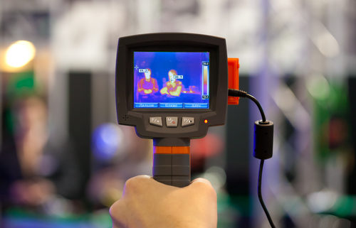 Identify air leaks with thermographic scanning.