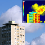 Water intrusion can be identified with a thermography inspection.