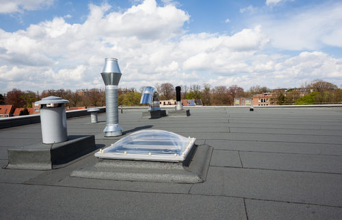 Detect small leaks with an infrared roof moisture survey.